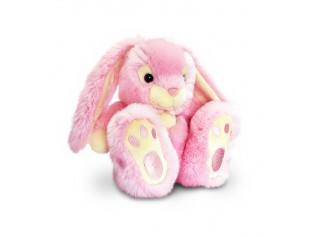 Peluche Lapin Patchfoot - 35cm - Rose