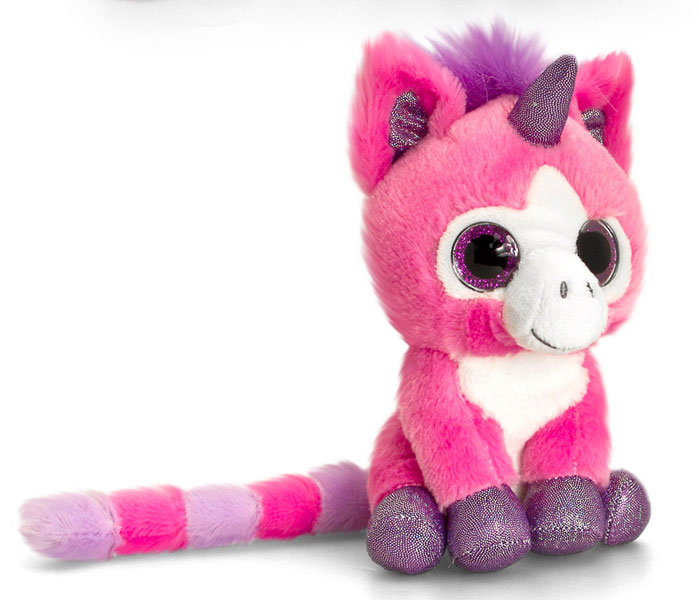 peluche licorne keel toys trs jolie petite licorne aux yeux qui brillent et aux couleurs vives. Black Bedroom Furniture Sets. Home Design Ideas