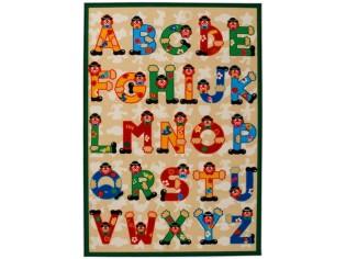 Tapis enfant SEVI, ABC, 100x140cm