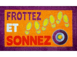 Paillasson - Frottez et Sonnez