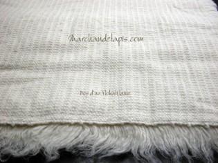 Tapis SHAGGY pure laine vierge 60cm x 120cm