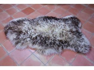 Peau de mouton UK. Mèches foncées 110-120cm B