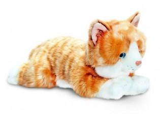 Peluche de chat, Amber, taille 30cm