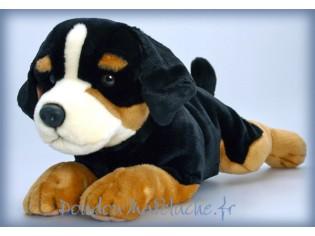 Peluche de chien Bouvier Benjie, taille 60cm