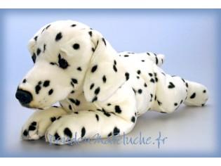 Peluche de chien Dalmatien Domino, taille 50cm