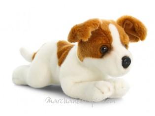 Peluche de chien Jack Russel, taille 35cm