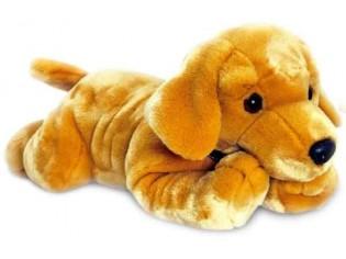 Peluche de chien Labrador, taille 90cm