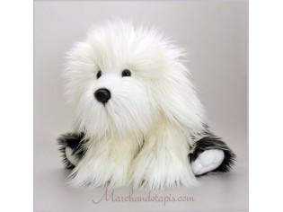 Peluche de chien Sheepdog, taille 45cm