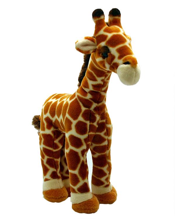 peluche girafe 35cm les peluches keel toys du trs haut de gamme et un ralisme surprenant. Black Bedroom Furniture Sets. Home Design Ideas