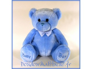 Peluche Ours Baby Boy Taille 38cm