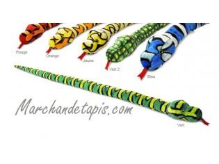 Peluche Serpent Jaune 200cm