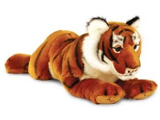 Peluche tigre couché 46cm