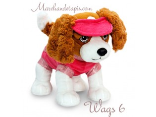 Peluche chien Wags 6 - Taille 30cm