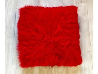 Coussin Cachemire 40cm x 40cm Rouge