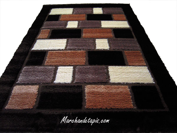 tapis shaggy polyester 0409 160cm x 230cm tapis shaggy. Black Bedroom Furniture Sets. Home Design Ideas