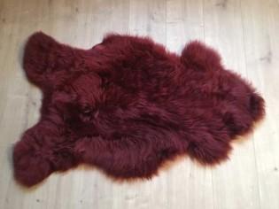 Peau de mouton. Merlot - 100-110cm