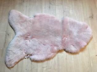 Peau de mouton. SWE-1011-PalPink - 100-110cm