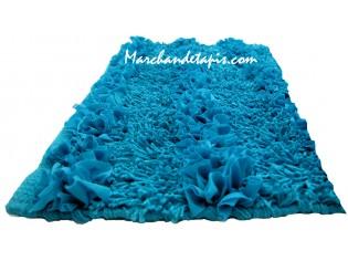 Tapis Bain Corfou Bleu 60cm x 90cm
