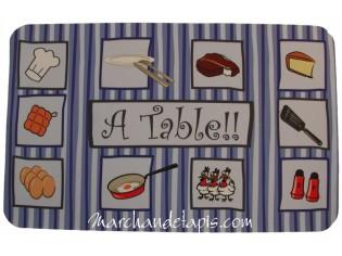 Tapis de cuisine Atable