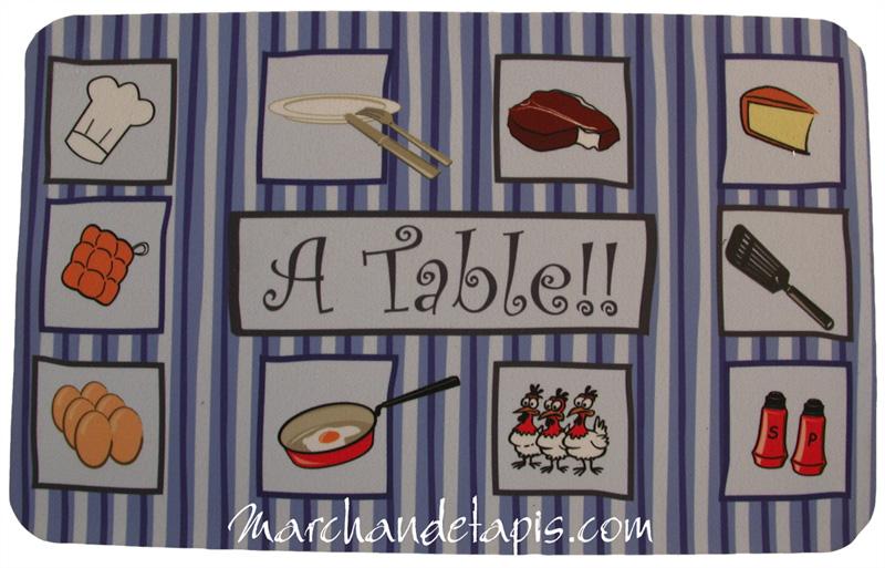 Tapis de cuisine atable marchand de tapis for Marchand de cuisine