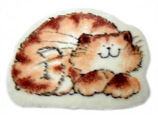 Tapis enfant fantaisie décor chat