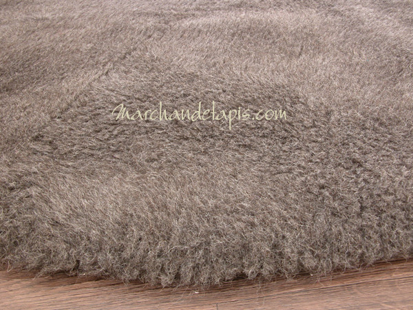tapis laine rond gris 150cm le confort et la chaleur de la laine marchand de tapis. Black Bedroom Furniture Sets. Home Design Ideas