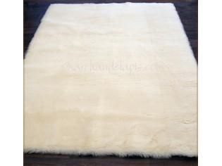 Tapis pure laine vierge 75cmx100cm Naturel