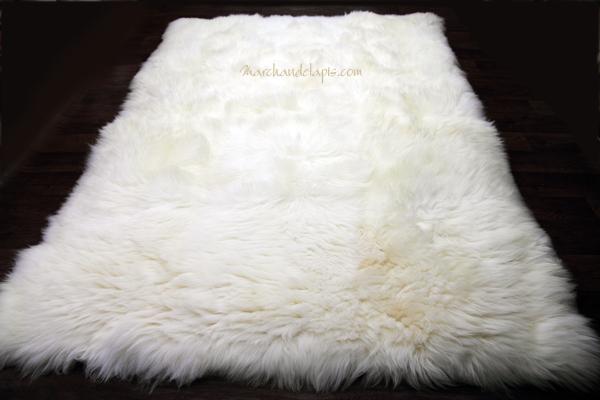 tapis blanc. Black Bedroom Furniture Sets. Home Design Ideas