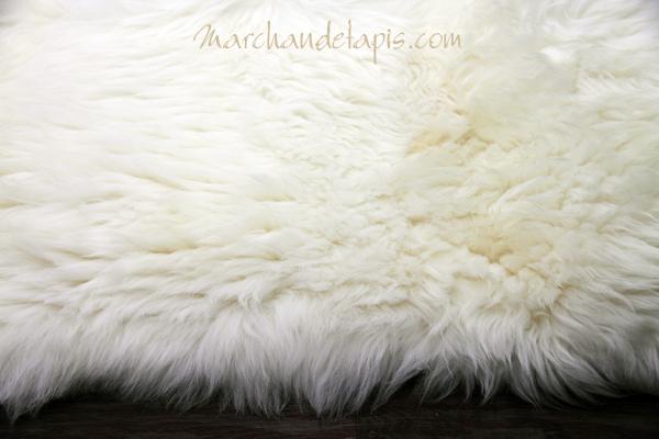 tapis peau de mouton 170cmx230cm blanc naturel uk. Black Bedroom Furniture Sets. Home Design Ideas