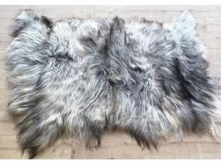 Tapis peau de mouton, 3 peaux - Gris naturel - TPM-IS-3P-GN-PL-0418