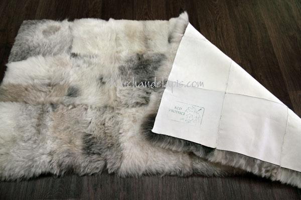 tapis peau de mouton mixmix mlange 60cmx120cm slection. Black Bedroom Furniture Sets. Home Design Ideas