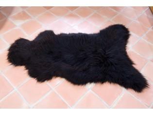 Peau de mouton UK - Marron naturel - 110/120cm - 09