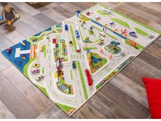 Echange tapis IVI Minicity 100cmx100cm par 100cm x150cm