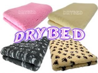 Lot de 2 tapis Drybed® Antidérapant 120cm x 120cm