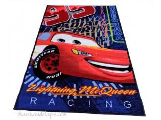 Tapis enfant Disney Cars Lightning McQueen, 80x140cm