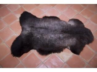 Peau de mouton UK - Marron rustique naturel - 110/120cm - 0421-2
