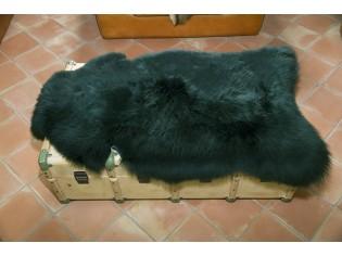 Peau de mouton. Vert - 110-120cm