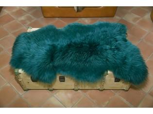 Peau de mouton. Emeraude - 110-120cm