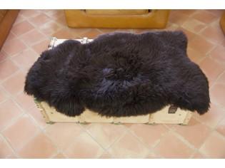Peau de mouton UK - Marron rustique naturel - 110/120cm - 0421-51