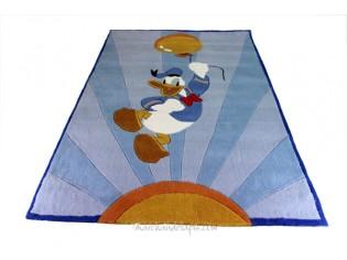 Tapis enfant Disney, Donald avec ballon, 115x168cm