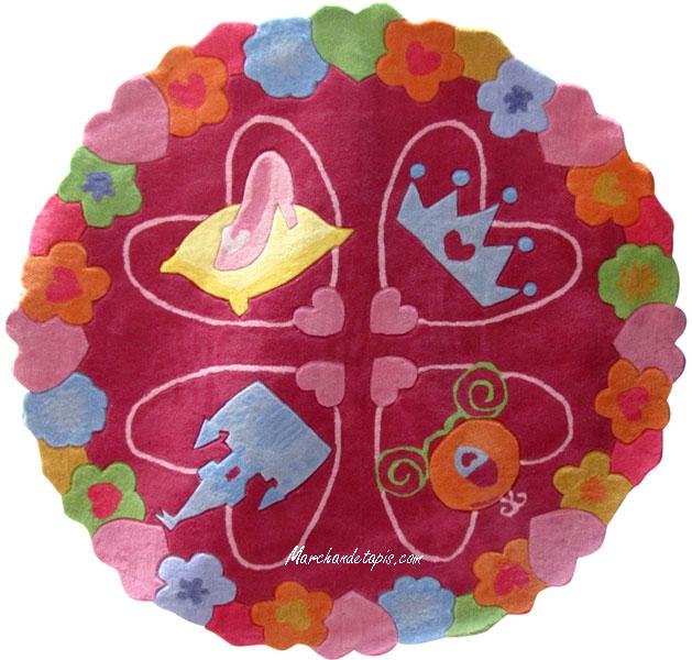 Tapis Enfant Disney Princesse 150cm Tapis Enfant Disney Slection Marchand De Tapis