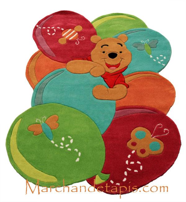 Tapis Enfant Winnie L 39 Ourson 115x168cm Tapis Enfant Disney De Grande Qualit Marchand De Tapis