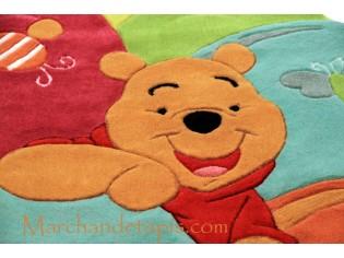 Tapis enfant Disney, Winnie l'ourson, 115x168cm