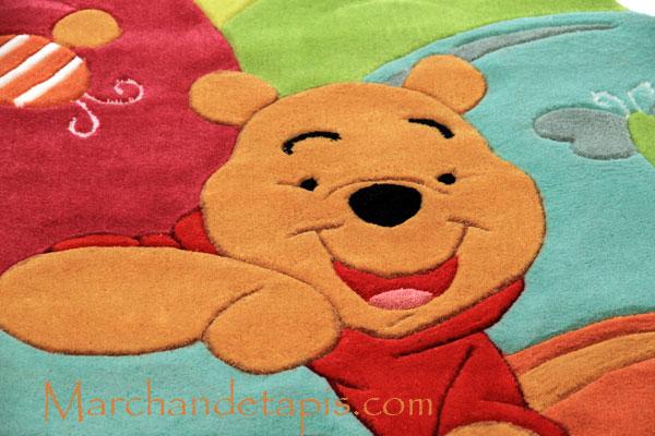 Tapis enfant Winnie lourson, 115x168cm  Tapis enfant Disney de