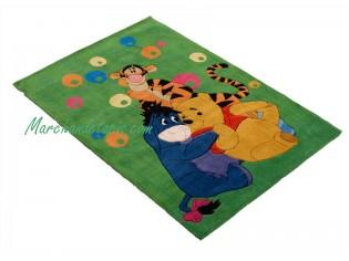 Tapis enfant Disney, Winnie et ses amis, 115x168cm