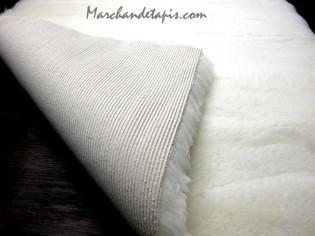 Tapis chien Drybed Luxe Laine Ecru 60cm x 120cm
