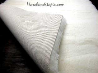 Tapis chien Drybed Luxe Laine Ecru 60cm x 75cm