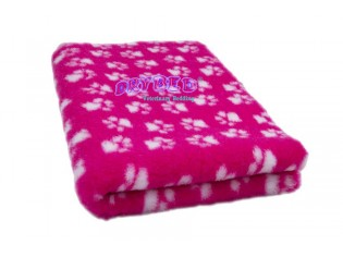 Tapis chien Drybed® antidérapant CERISE PATTES BLANCHES