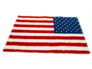 Tapis chien Drybed® antidérapant DRAPEAU USA