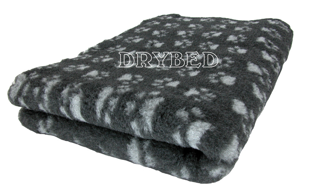 tapis chien antid rapant drybed gris fonce pattes grises drybed. Black Bedroom Furniture Sets. Home Design Ideas